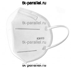 Полумаска защитная KN95 без клапана выдоха