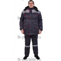 Костюм Ф-2 утеплённый, куртка + полукомбинезон