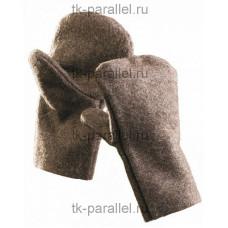 Рукавицы суконные пл. 600 гр.