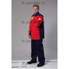 Костюм сварщика Марс 2, куртка + брюки (380 гр)